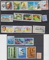 NOUVELLE CALEDONIE Année 1997 Complète 22 T Neufs Xx  N°YT 725 à 746 - New Caledonia