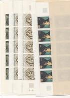 DI-133: FRANCE: Lot Avec Timbres** En Feuilles Entières Pliées (19) Pour Faciale De 40.00 Euros - Feuilles Complètes