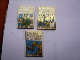3 Pin S SPORT TRIATHLON DE LA BAULE Different Tbq - Athlétisme