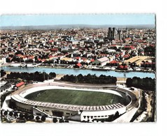 51 Reims Stade Velodrome Foot Ball Football CPSM GF Cachet 1962 - Reims