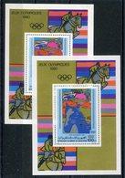 RC 15168 MAURITANIE JEUX OLYMPIQUES DE MOSCOU 1980 + SURCHARGÉ BLOC FEUILLET NEUF ** MNH TB - Niger (1960-...)