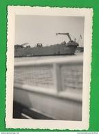 Nave Cannoniera Con Elicottero E Cannoni Sul Ponte Marina Marine Navires Ships Schiffe Navy - Barche