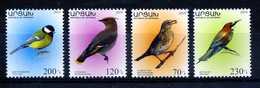 2019 Artsakh Karabakh Armenia, Fauna, Birds, 4 Stamps, MNH - Birds