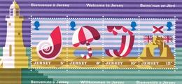 Jersey, 1975, 199/22 Block 1, Tourismus.  MNH ** - Jersey