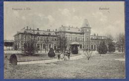 CPA BAS-RHIN (67) - HAGUENAU - BAHNOF - GARE - Haguenau