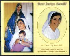 SANTINO - Suor Josipa Kordic - Santino Pieghevole Con Preghiera - - Santini