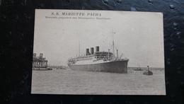 S.S. MARIETTE PACHA - Nouveau Paquebot Des Messageries Maritimes - Steamers