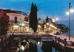Italy - Gardone Riviera - Lago Di Garda Notturno - (Lake Of Garda By Night) - Brescia