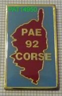 PAE 92 CORSE  POLE D' ACTION ECONOMIQUE - Administraties