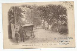 84 Vaucluse Entrechaux Entrée Du Pays Ouest Cachet Grangeon 1915 - Francia