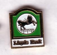 S69 Pin's BANQUE LLOYDS BANK CHEVAL Horse Achat Immédiat - Banken