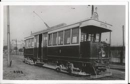 Photo - Tramways De Paris - TCRP - Pub -  Tramway  Porte D' Orléans - Eisenbahnen