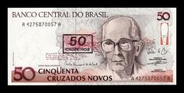 Brasil Brazil 50 Cruzeiros 1990 Pick 223 Sign 27 SC UNC - Brasil
