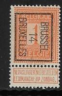Brussel 1914 Typo Nr. 45B - Precancels