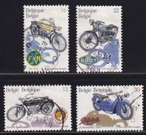Belgium 1995, Motorcycles Complete Set Vfu. Cv 4,20 Euro - Gebraucht