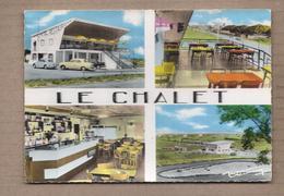 """CPSM 11 - NARBONNE - Sur La Nationale 9 - Hôtel Restaurant """" LE CHALET """" - TB CP 4 Vues Dont Façade , Etc.. KARTING - Narbonne"""