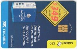 MEXICO B-157 Chip Telmex - Used - Mexiko