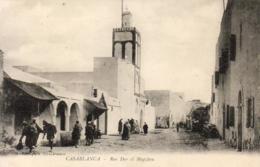 MAROC  CASABLANCA  Rue Dar El Magzben   ..... - Casablanca