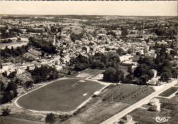 D24  RIBÉRAC  Vue Aérienne ...... Avec Le Stade - Riberac