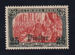 Deutsche Auslandspost Türkei 1905 Michel 47 **, 25 Piaster Postfrisches Prachtstück, Michel 100,-€ - Offices: Turkish Empire