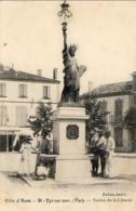 D83  SAINT CYR SUR MER  Statue De La Liberté - Saint-Cyr-sur-Mer