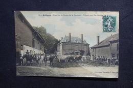 FRANCE - Carte Postale - Attigny - Cour De La Ferme De La Sucrerie - Départ Pour Les Champs -  L 50585 - Attigny