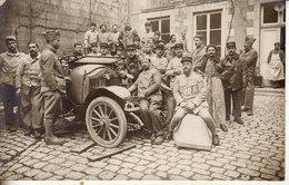 Carte Photographie - Groupe De Militaires (z 010) - Guerra 1914-18