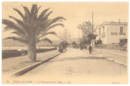 CPA 06 - 14. JUAN LES PINS - Le Boulevard De La PLage - LL - Juan-les-Pins