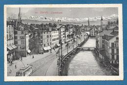 ZURICH LIMMATQUAI 1913 - ZH Zurich