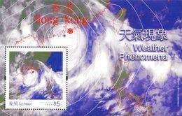 HONG-KONG Bloc Phénomènes Météo 2014 Neuf ** MNH - Nuevos