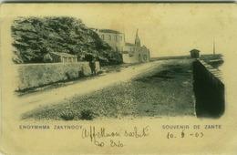 GREECE - SOUVENIR DE ZANTE / Zakynthos - MAILED TO ITALY 1903 (6904) - Greece