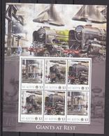 Trein, Train, Locomotive, Eisenbahn : Railway Heritage: St. Kitts, Giant At Rest - Eisenbahnen
