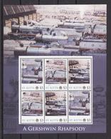 Trein, Train, Locomotive, Eisenbahn : Railway Heritage: St. Kitts, A Gershwin Rhapsody - Trains