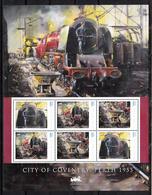 Trein, Train, Locomotive, Eisenbahn : Railway Heritage: Guinee Bissau, City Of Coventry, Perth 1955 - Trains