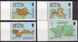 Jersey, 1980, 212/15, Festungen, Forts, MNH ** - Jersey