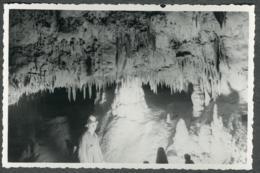 07 Ardèche Photo Chomerac Grotte De Tourange Spéléologue Années 50 - Sonstige Gemeinden