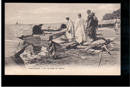 MALI Tombouctou  Sur Les Quais De Kabara Ca 1910 Old Postcard - Mali