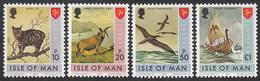 ISLE OF MAN  Michel  24/27 ** MNH  MATTE GUM - Man (Ile De)