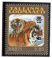 Estonia 1998 .Tallinn Zoo (Tigers). 1v: 3.60.   Michel # 333 - Estonia