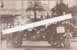 Bolbec ,( Le Havre ), Carte Photo , Char 1e Prix à La Fête Florale 1924  ,( Photo Mahu ) RARE - Bolbec