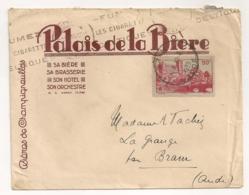 ENVELOPPE   DU PALAIS DE LA BIERE NANCY / BIERES DE CHAMPIGNEULLES  B2055 - 1921-1960: Moderne