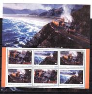 Trein, Train, Locomotive, Eisenbahn : Railway Heritage: Central Africa , Along The Cambrian Coast - Eisenbahnen