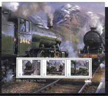Trein, Train, Locomotive, Eisenbahn : Railway Heritage: Guinee Bissau, K4S And Ben Nevis - Trains