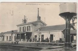 Motteville ,( Yerville , Rouen ), La Gare  ,( Intérieur , RARE Résevoir à Eau Pour Locomotive à Vapeur , Train ) - Yerville