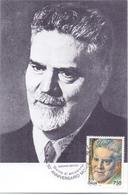 GIOVANNI GENTILE FILOSOFO POLITICO CASTELVETRANO    FDC  1994 MAXIMUM POST CARD (GENN200056) - Celebrità