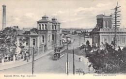 ARGENTINA Argentine : BUENOS AIRES Estacion Casa Amarilla - CPA - AMERIQUE SUD South America Sudamerica - Argentina