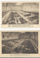 Vichy   Ateliers D'Embouteillage  Des Eaux De Vichy-Etat   Lot De 2 Cartes - Vichy