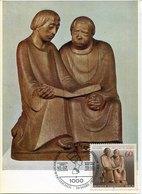 50412 Germany, Maximum 1980 Sculpture Of  Ernst Barlach, Lesende Monche, Reading Monks - Sculpture