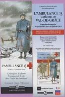 Marque-page °° Grand Angle - BD L'ambulance 13 Tome1 - Croix De Sang - Expo Val De Grâce  5x15 - Segnalibri
