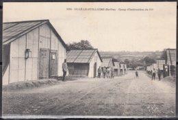 MILITARIA    72   SILLE LE GUILLAUME    Sarthe  Camp D'Instruction Du 124eme    CPA  écrite   ANIMEE        Num 1084 - Sille Le Guillaume